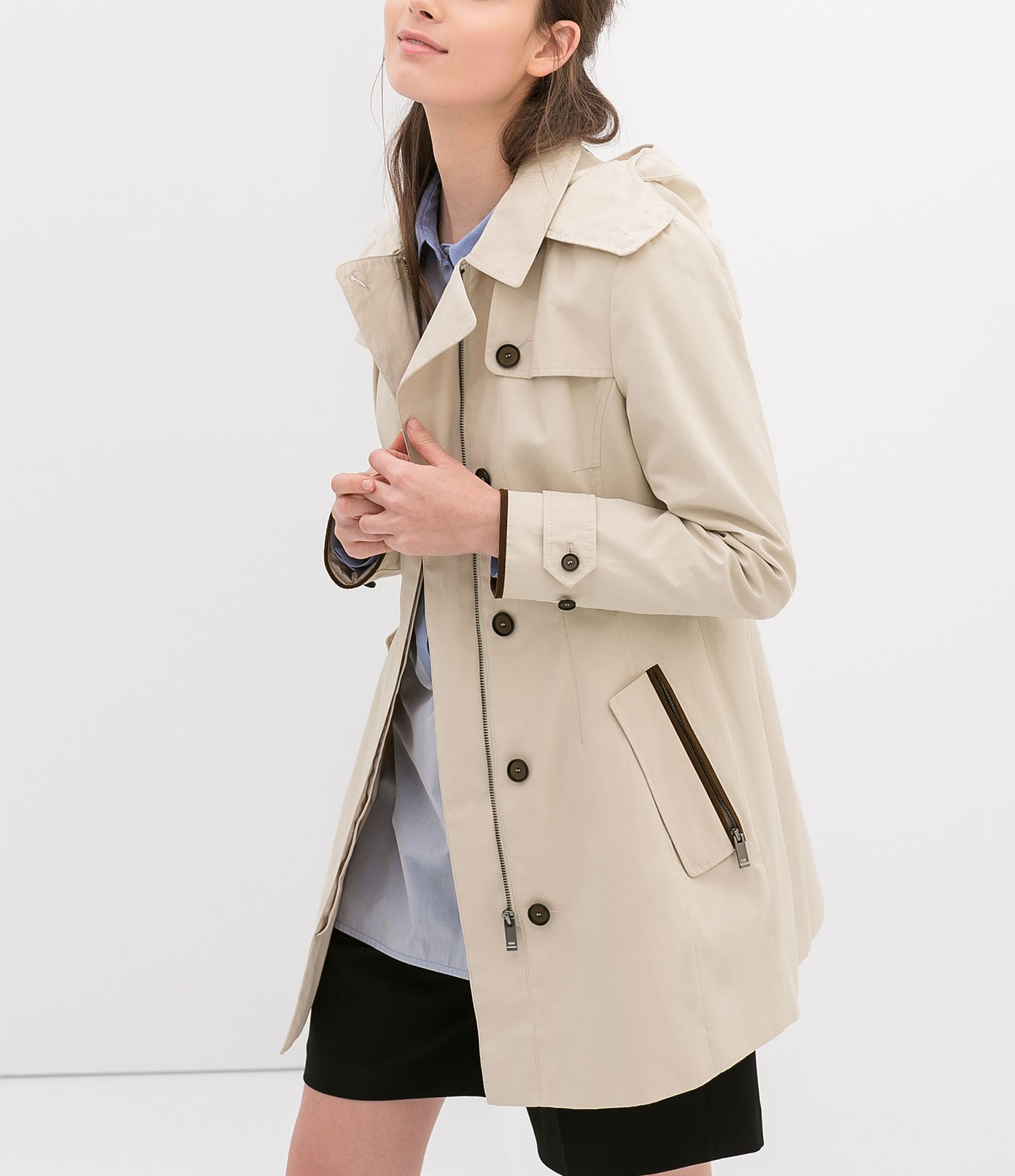 trenchcoat heren kort