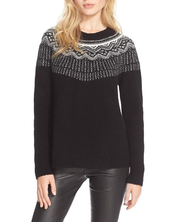 Top 5 of the week: Left-of-preppy Fair Isle sweaters - Girls of a ...