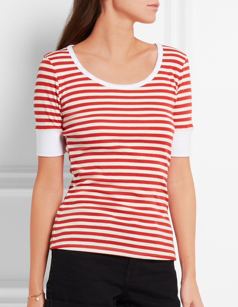 frame striped tee