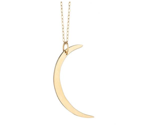 Iconery moon necklace—a bunch of good necklaces for layering
