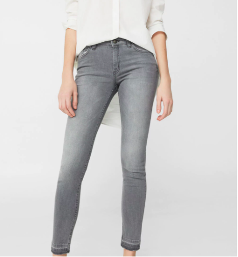 Mango jeans—suddenly it's all about grey jeans