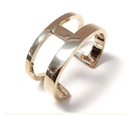 Annie Costello Brown cuff—big cuffs are forever cool