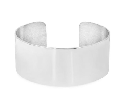 Iconery sterling silver cuff—big cuffs are forever cool