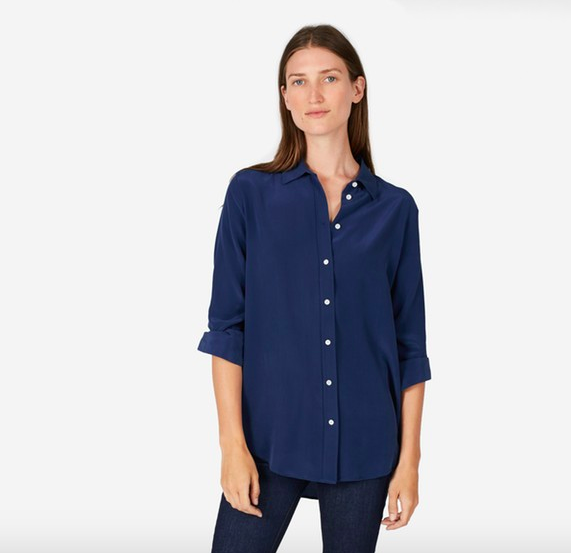 Everlane silk blouse—things I bought, things I want