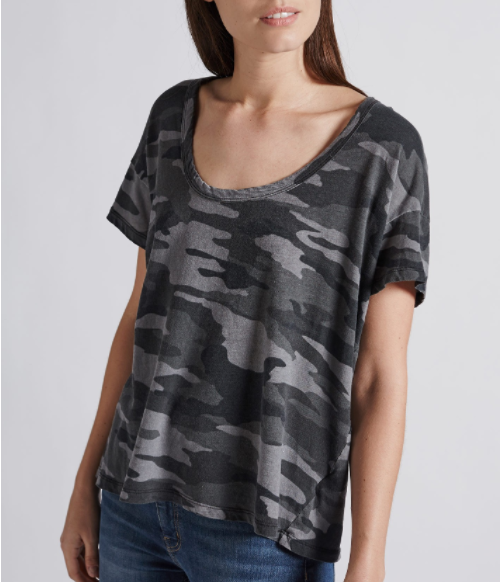 Current-Elliott tee—All of a sudden, camo