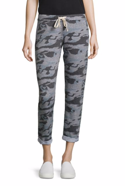 Monrow sweatpants—All of a sudden, camo