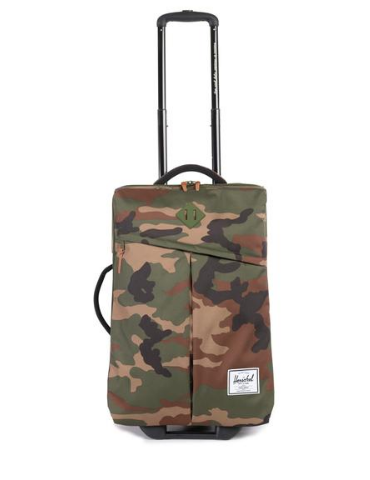 Herschel Supply camo suitcase—All of a sudden, camo
