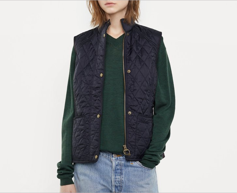 Barbour vest—Things I bought, things I want