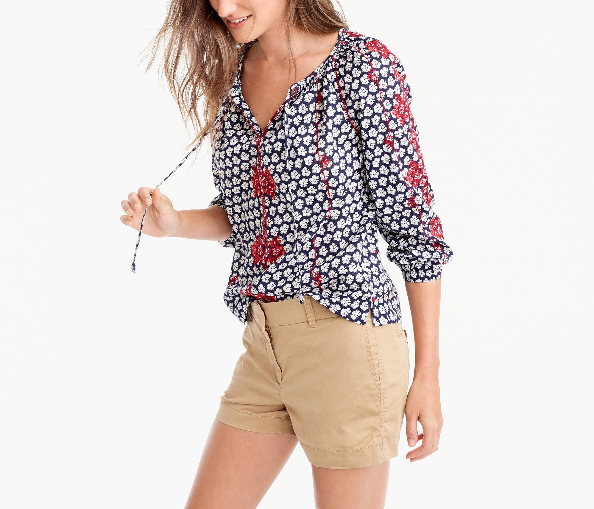 J Crew embroidered top—Top 5 of the week