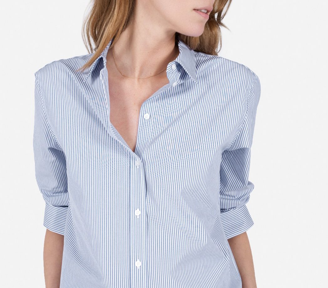 Everlane button-down—All I want to wear are button-downs