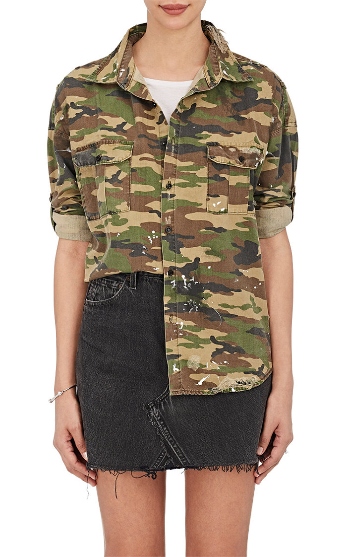 NSF camo shirt—All of a sudden, camo