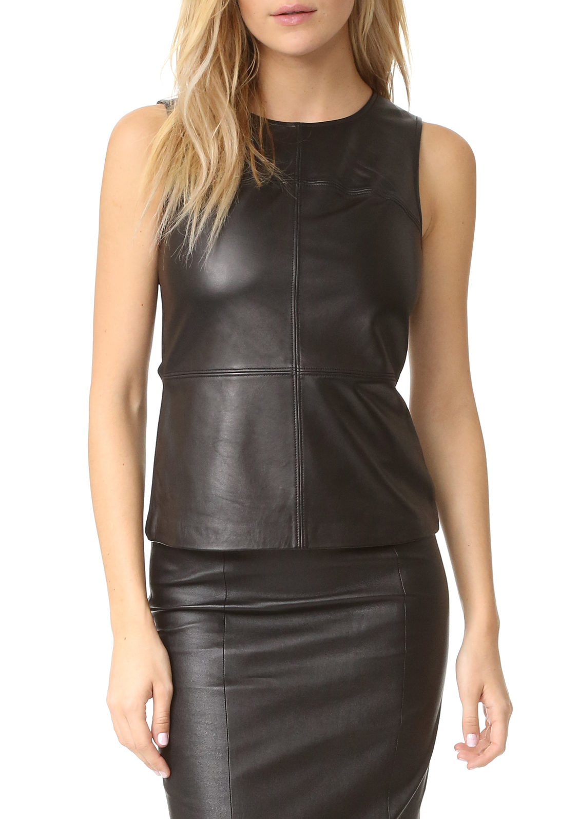 Mackage leather top