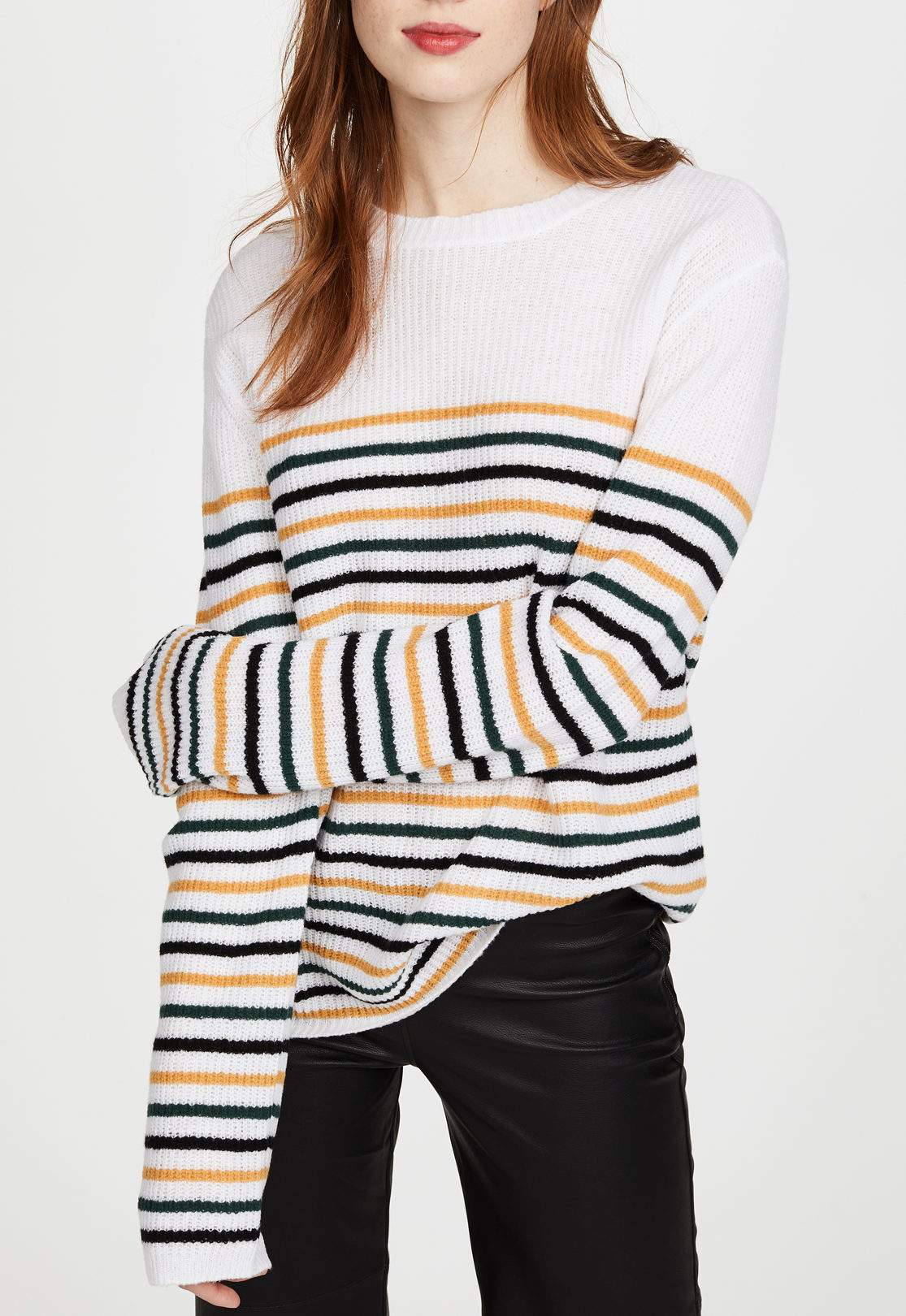 alc striped sweater
