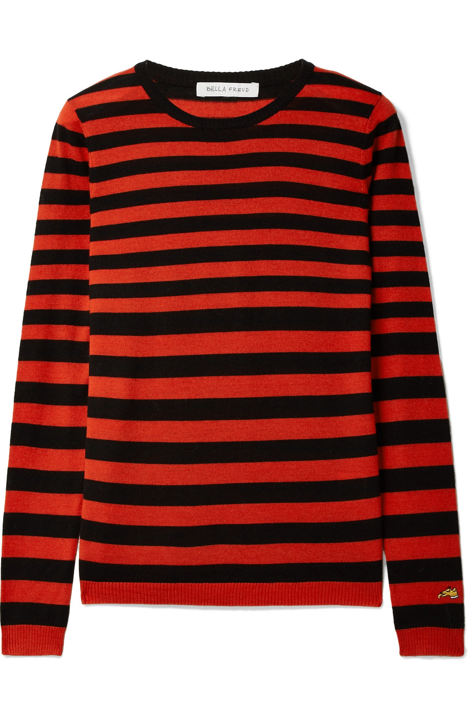 bella freud striped sweater