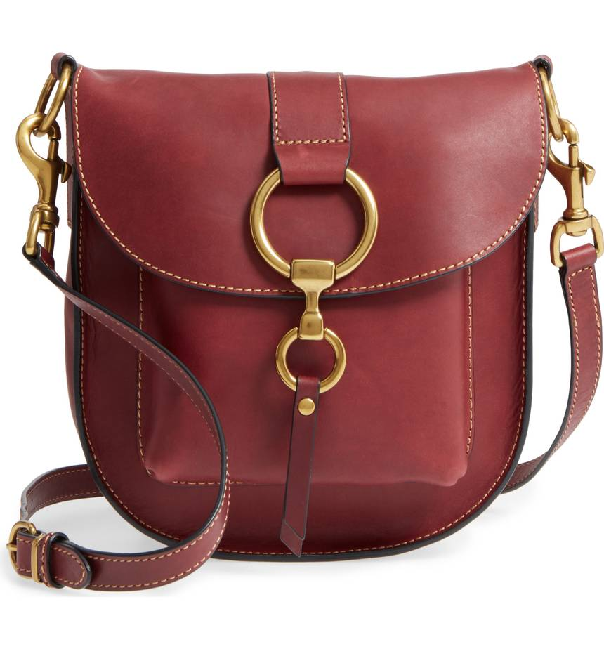 frye saddle bag