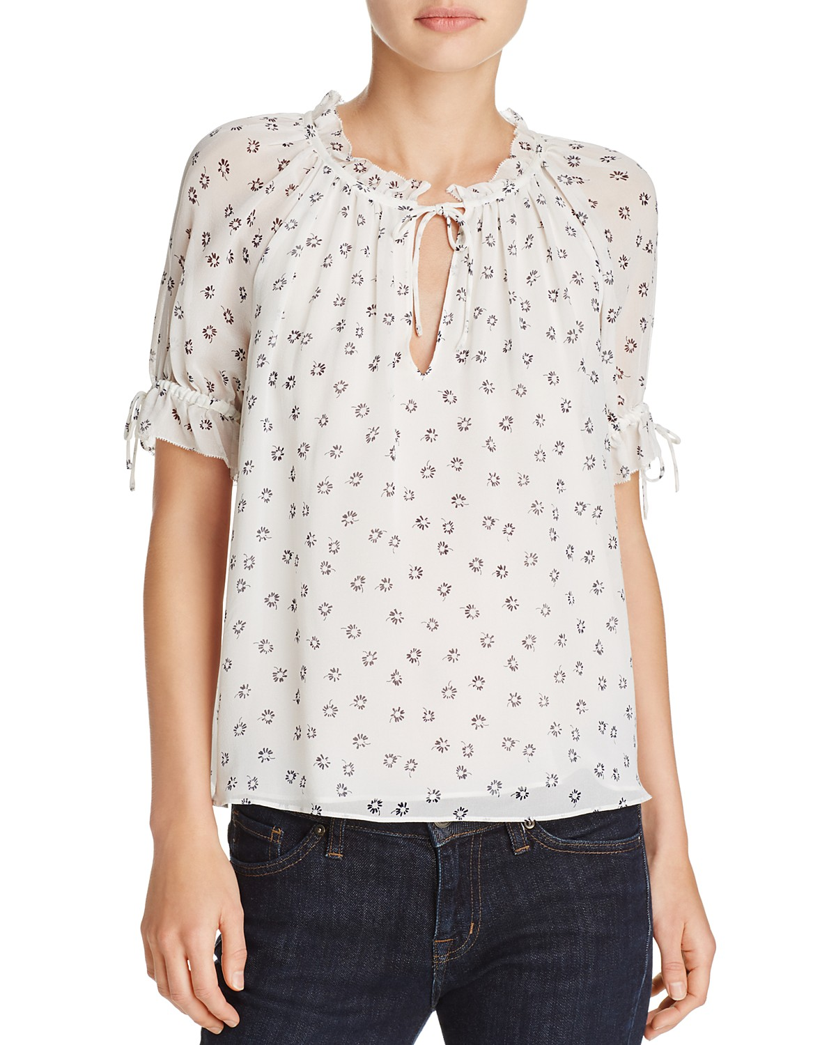 joie floral shirt