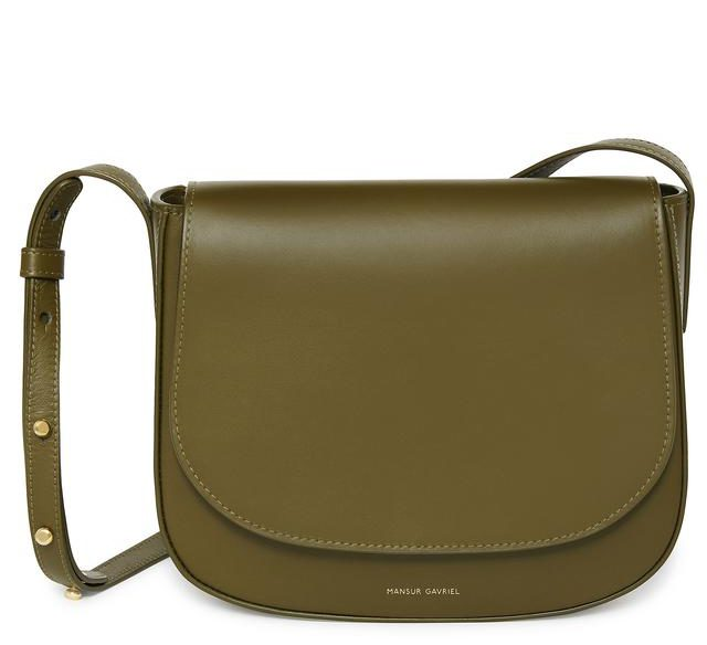 mansur gavriel saddle bag
