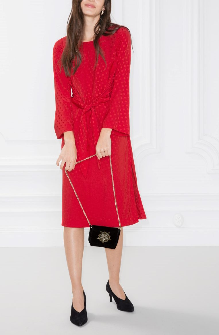 & other stories knot dress